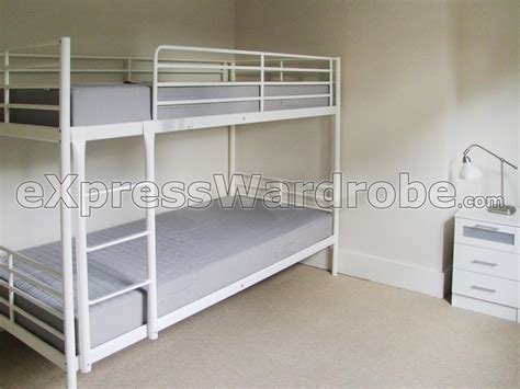 ikea white bunk beds new white bunk beds ikea 94 in minimalist design room with