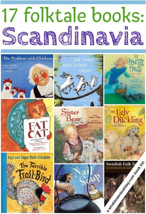 picture books about culture scandinavian folktales for