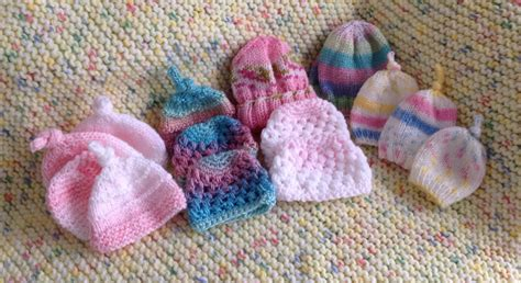 donating knitted baby hats hospitals brookside knits 187 what we re knitting