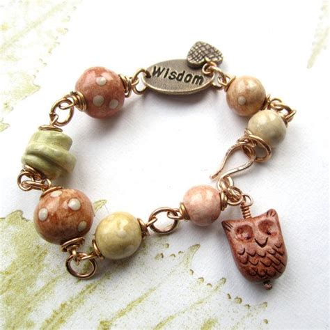 beaded charm bracelets 1000 images about ceramic bead bracelets on