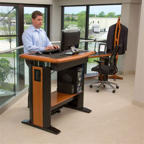standing work desks standing desk workstation costco stand up desk type 32