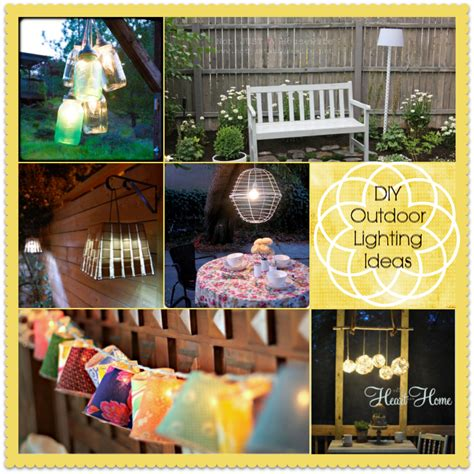 diy outdoor lighting ideas 15 diy outdoor lighting ideas home stories a to z