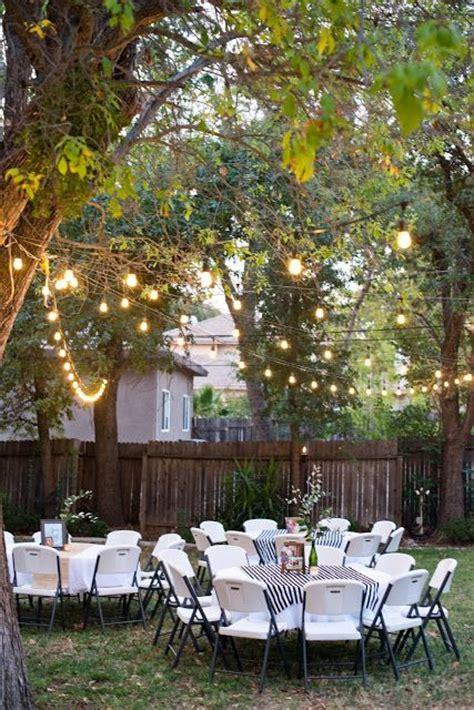 outdoor ideas for backyard best 25 backyard birthday ideas on