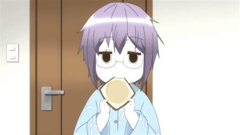 yuki chan nom nom nom disappearance of nagato yuki chan animegifs