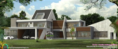 contemporary home plans and designs ultra modern contemporary house in kerala kerala home