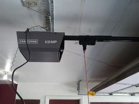 craftsman garage door opener trouble shooting new liftmaster garage door opener installation