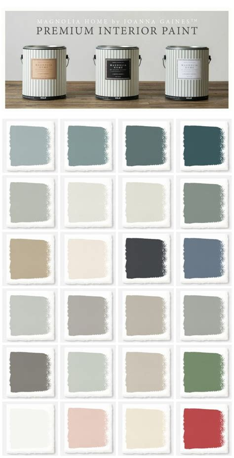 paint colors magnolia farms new magnolia home paint collection paint colors