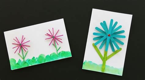 thank you crafts for easy diy thank you card for