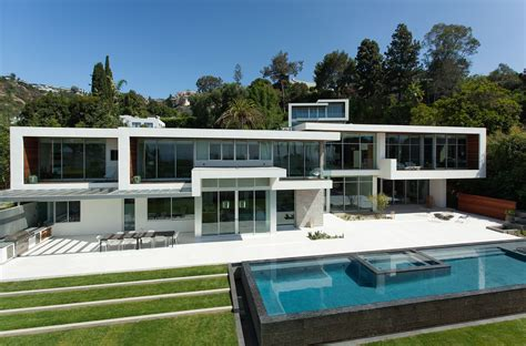 modern mansion house architecture contemporary architecture and interiors on sunset