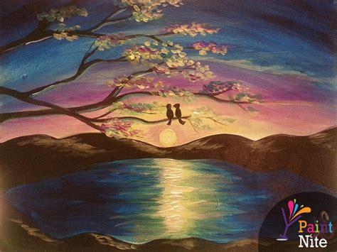 paint nite a island city paint nite lilac lake