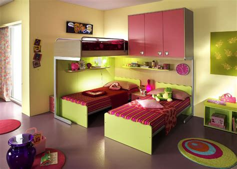 bedroom ideas for two beds ergonomic bedroom designs for two children from