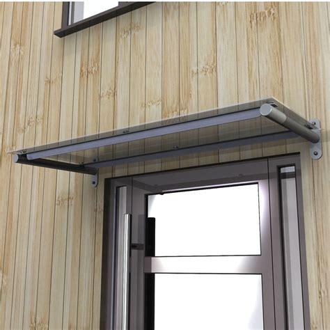 Door Canopy by Toughened Glass Door Canopy With Powdercoated Steel