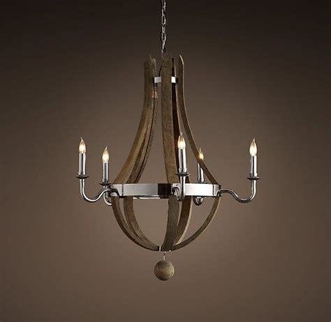 restoration hardware wine barrel chandelier pin by on home accents