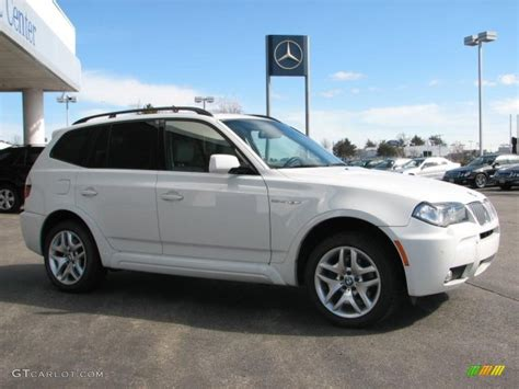2007 Bmw X3 3 0si by 2007 Alpine White Bmw X3 3 0si 26505429 Photo 3
