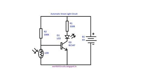 lights circuit world of circuits automatic light circuit
