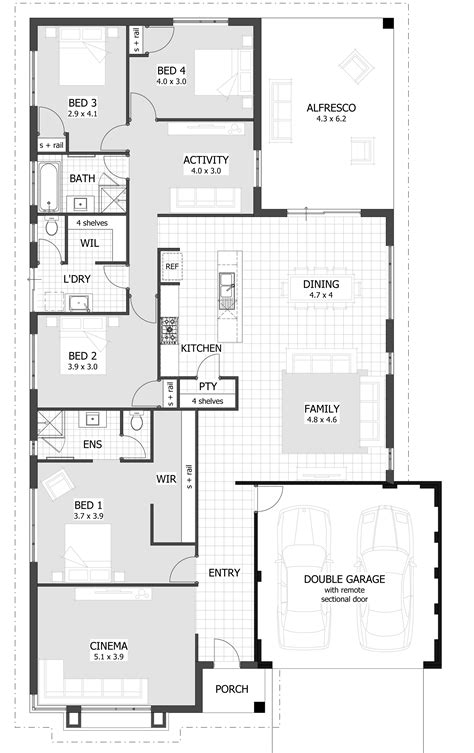 four bedroom house plans affordable 4 bedroom house plans