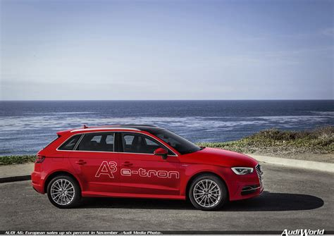 Audi Europe by Audi Ag European Sales Up Six Percent In November Audiworld