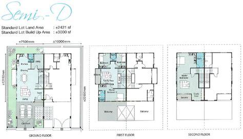 property floor plan terraced house floor plan malaysia