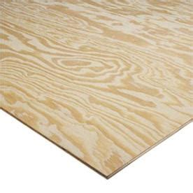 Shop Pine Sheathing Plywood Common 23 32 X 4 X 8 Actual