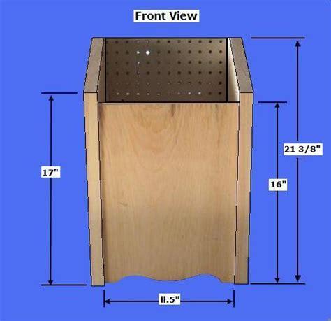 potato and bin woodworking plans free potato bin plans how to make a vegetable storage bin