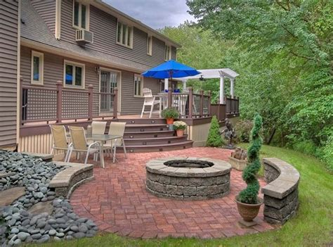 deck to patio designs outdoor living deck and pergola