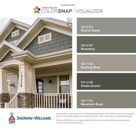 exterior paint color combinations images 25 best ideas about exterior color schemes on