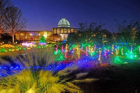 va lights dominion gardenfest of lights at lewis ginter botanical garden