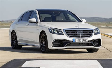Mercedes Amg by Official 2018 Mercedes Amg S63 And S65 Facelift Gtspirit