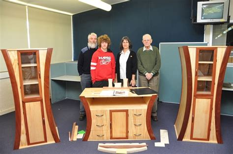 hsc woodwork projects students markers furnish top marks for hsc projects