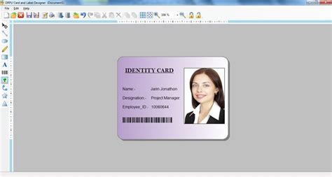 i card software id card maker software screenshot page
