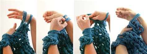 how to end arm knitting arm knitting how to photo tutorial part 3 binding