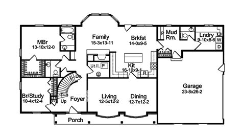 Two Story House Plans With Master On Second Floor harmon oak early american home plan 057d 0032 house