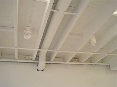 spray painting unfinished basement ceiling pin by beth on for the home