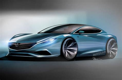 Sports Car Concept by Mazda Rx Vision Rotary Engined Sports Car Concept Revealed