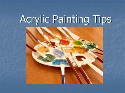 acrylic painting tips acrylic painting tips spiration