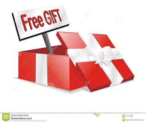 gift images free vector free gift present box stock vector image 11154202