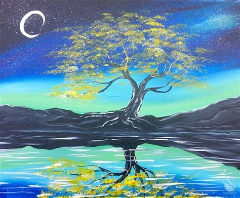 painting with a twist locations plano tree the moonlight new thursday january 28