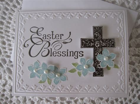 religious easter cards to make handmade greeting card easter blessings religious