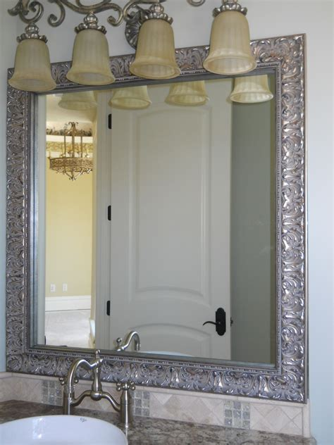mirror frames bathroom reflected design bathroom mirror frame mirror frame kit