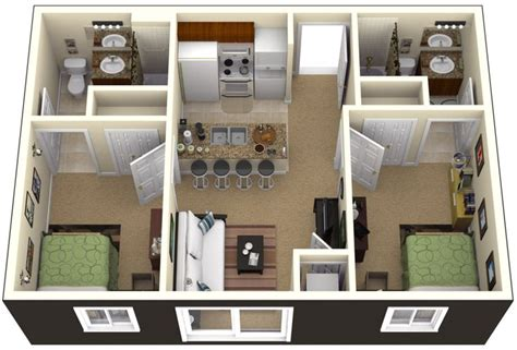 two bedroom homes one bedroom house plans 3d search small house