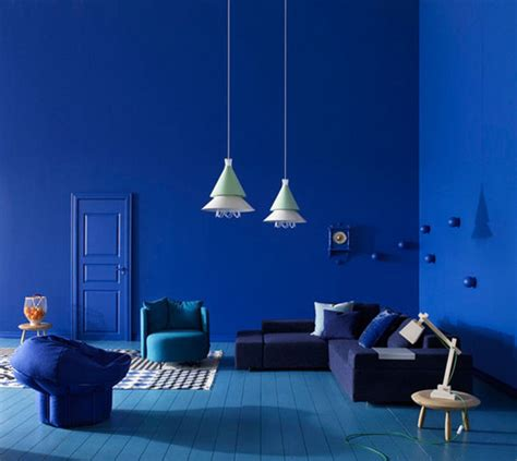 blue interior design rich blue and pink interior decorating paint colors and
