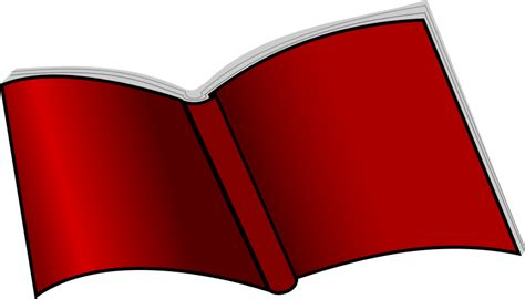 picture of an open book clip book free stock photo illustration of an open book