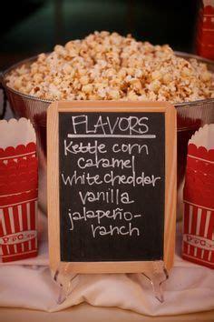 groundhog day bar raleigh wedding on popcorn bar burlap and
