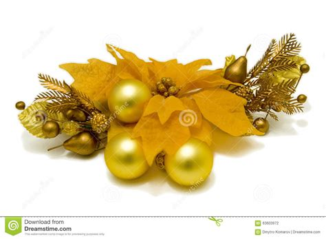 yellow tree decorations yellow poinsettia flower tree decorations front