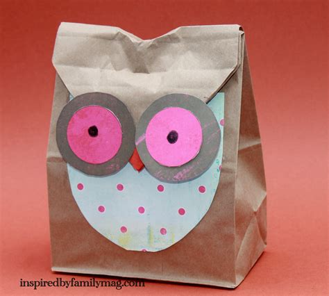 paper bags craft fall paper bag crafts blogs justmommies
