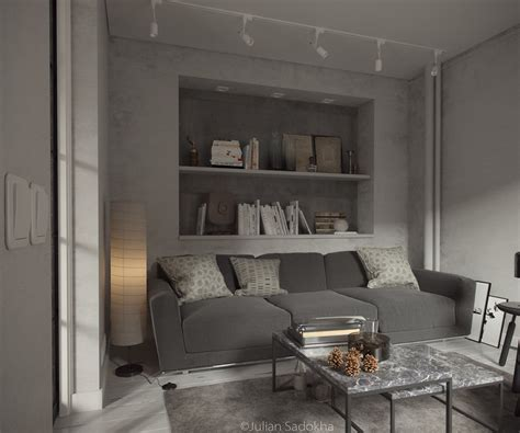 gray interior design 1st place a cool grey interior for a free spirit