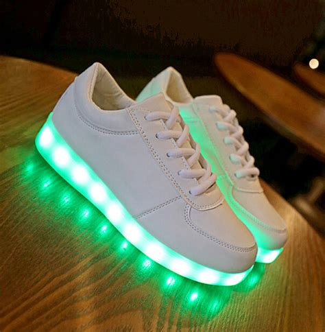 lights for boys led shoes for children fashion luminous sneakers boys