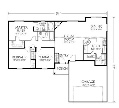simple 3 bedroom house plans simple 3 bedroom house plans single floor house floor plans