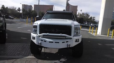 led light bar truck white truck with led light bars better automotive lighting