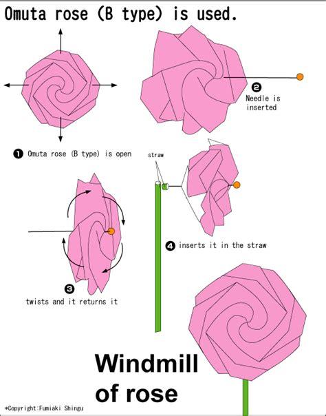 origami ros omuta easy origami for